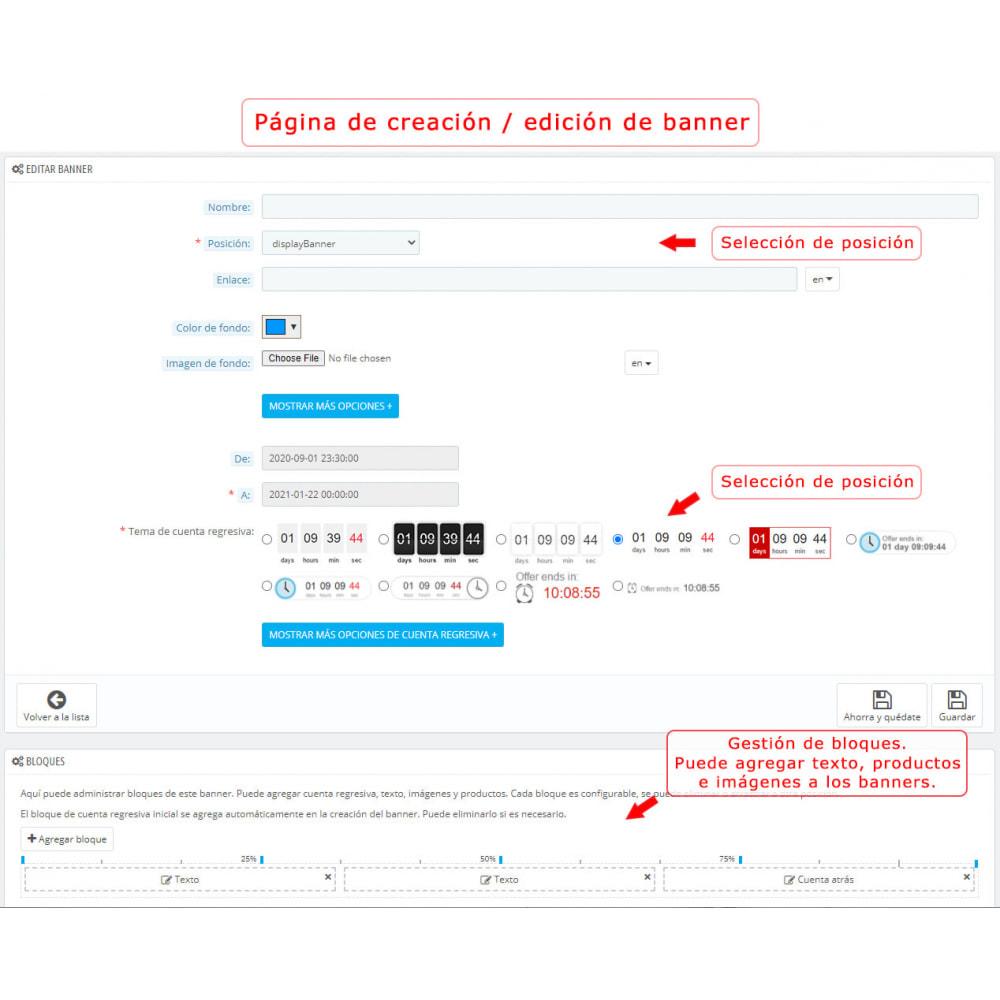 module - Ventas Privadas y Ventas Flash - Banner con la cuenta regresiva PRO - 9