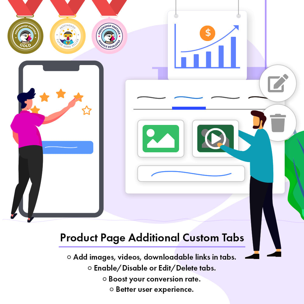 module - Additional Information & Product Tab - Product Page Additional Custom Tabs - 2