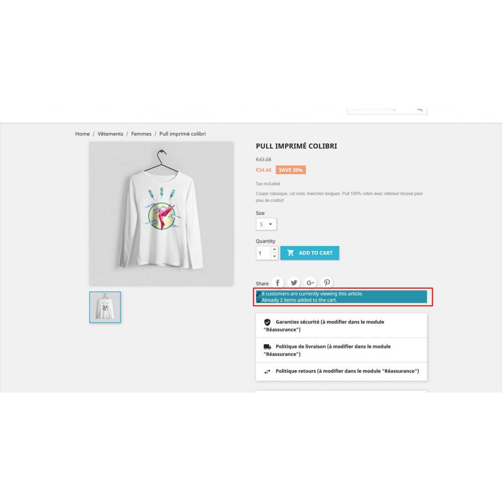 module - Altre informazioni & Product Tab - Visita il contatore nella pagina del prodotto - 2