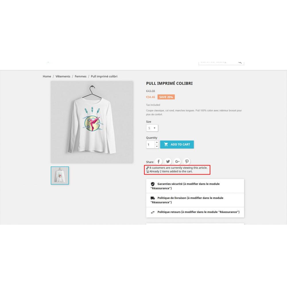 module - Altre informazioni & Product Tab - Visita il contatore nella pagina del prodotto - 3