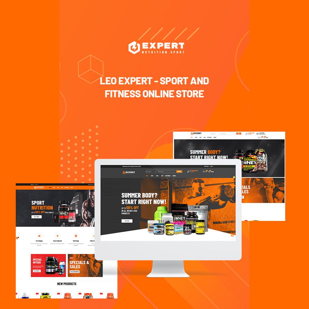 theme - Desporto, Actividades & Viagens - Leo Expert - Sport And Fitness Online Store - 1