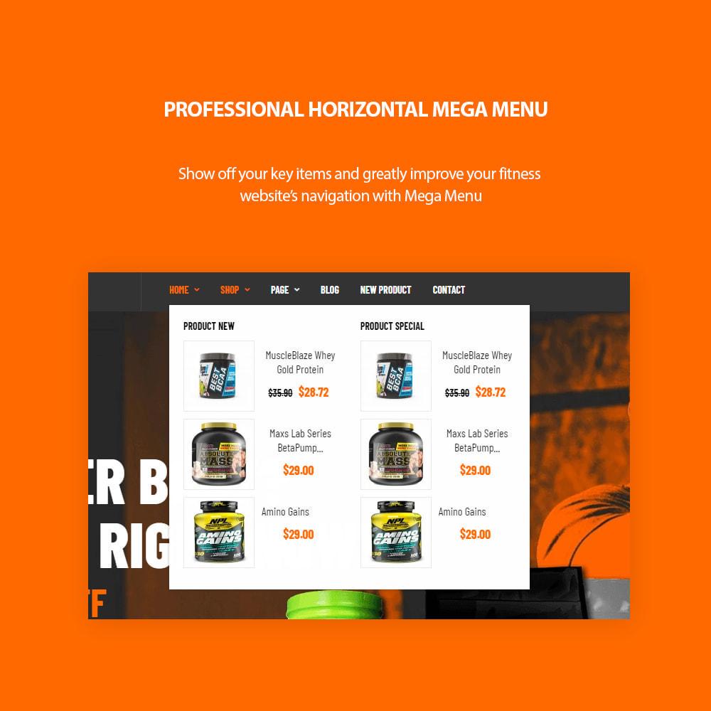 theme - Desporto, Actividades & Viagens - Leo Expert - Sport And Fitness Online Store - 5