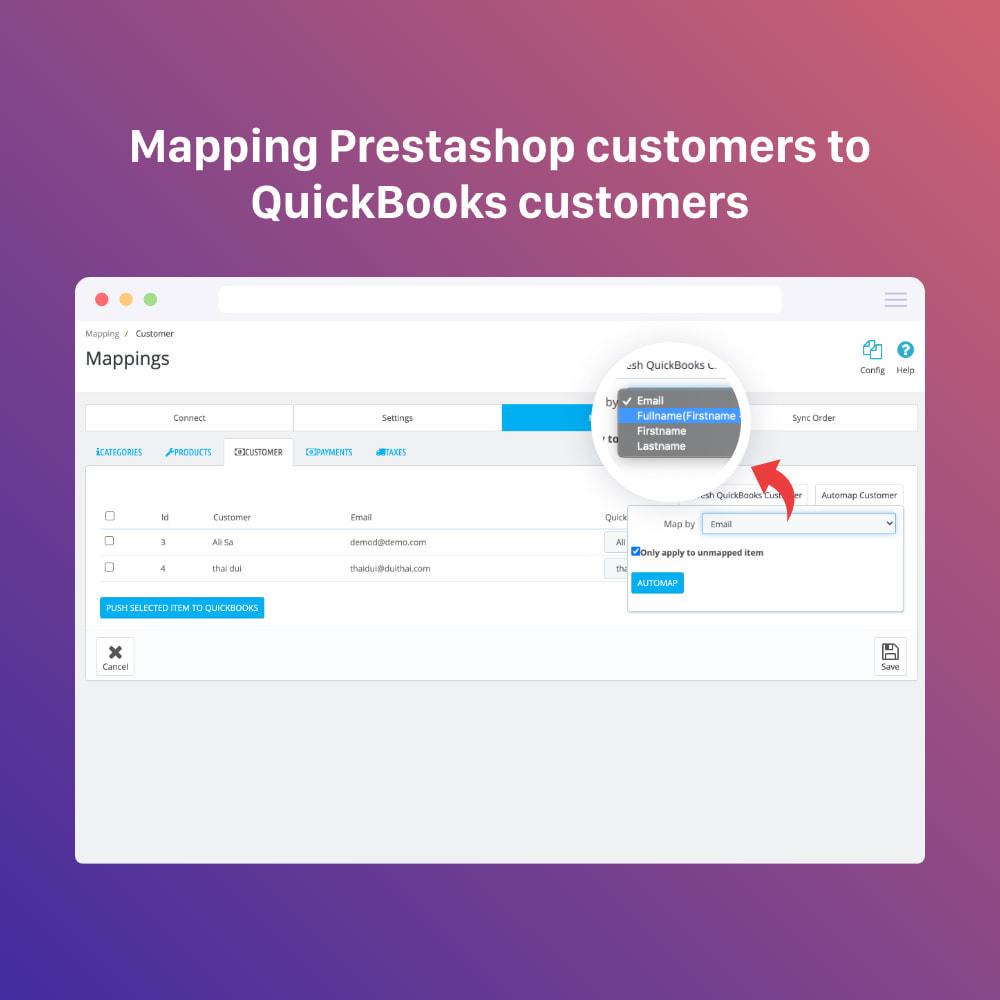 module - Integración con CRM, ERP... - QuickBooks Connector PRO - Quickbooks Online Connector - 10