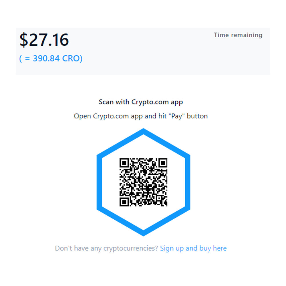 module - Other Payment Methods - Crypto.com Pay: Accept payments in cryptocurrencies - 4