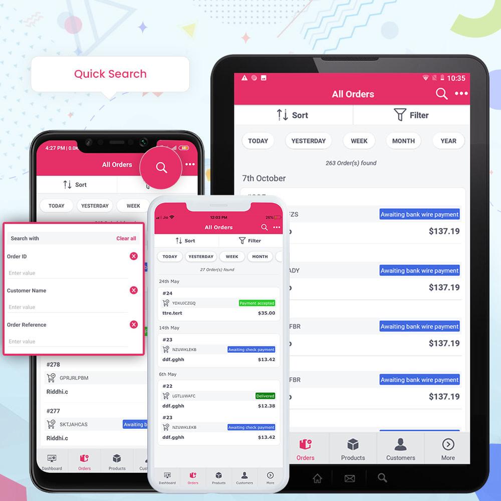 module - Мобильный телефон - FE Presta Admin App - Easy to Manage Store Admin - 14