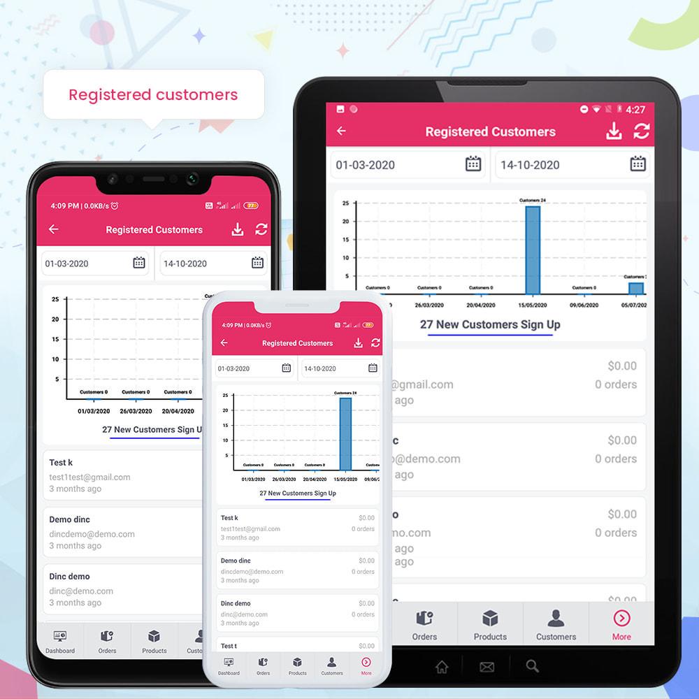 module - Мобильный телефон - FE Presta Admin App - Easy to Manage Store Admin - 23