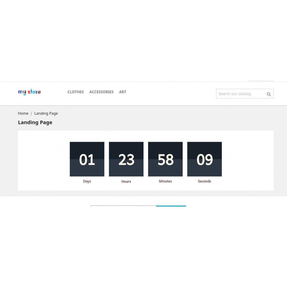 module - Адаптация страницы - Timer Clock - 7