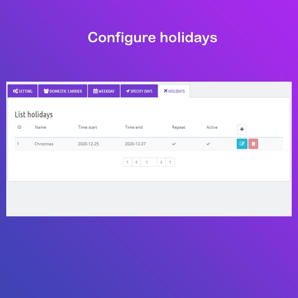 module - Data di Consegna - Fecha estimada de Entrega & Scheduled Delivery PRO - 8