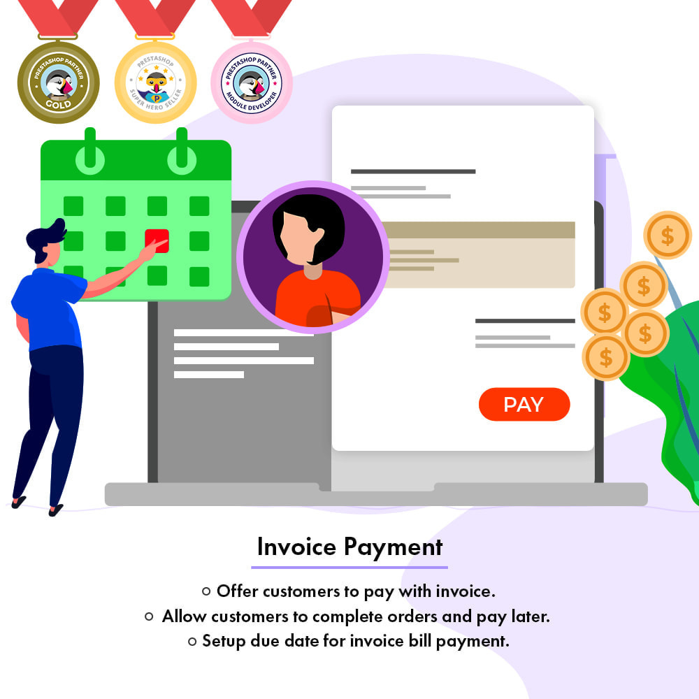 module - Betaling per Factuur - Pay With Invoice - 1