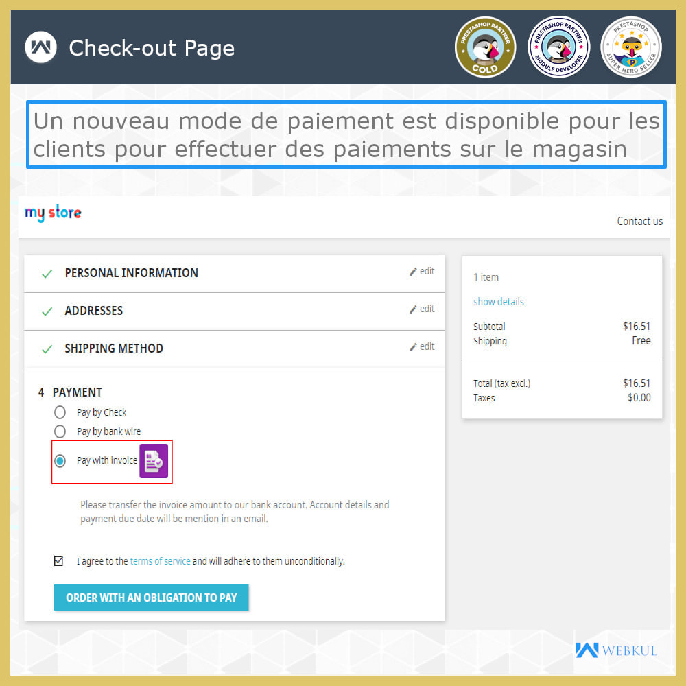 module - Betaling per Factuur - Pay With Invoice - 4