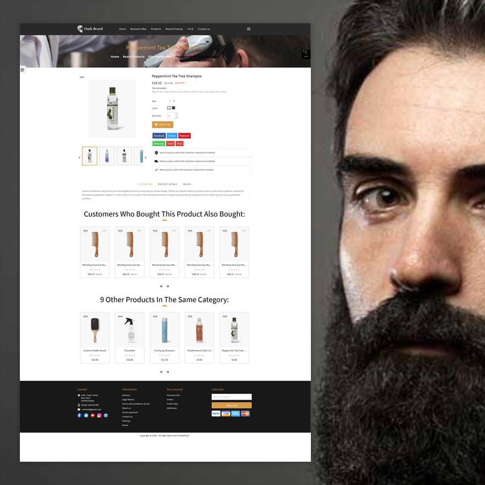 theme - Moda & Obuwie - Dark Beard stores - 4