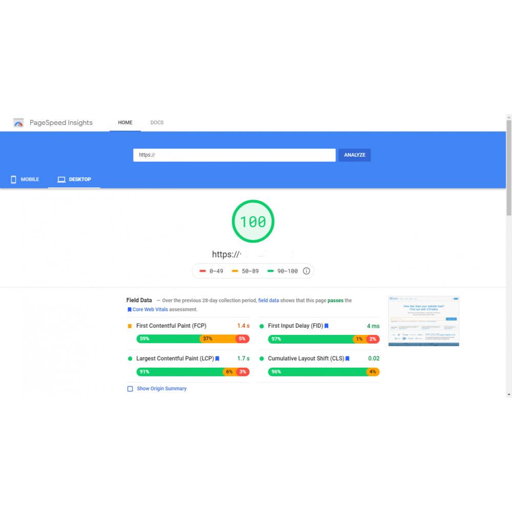 module - Rendimiento del sitio web - GTmetrix Pro  - Speed optimization - 5