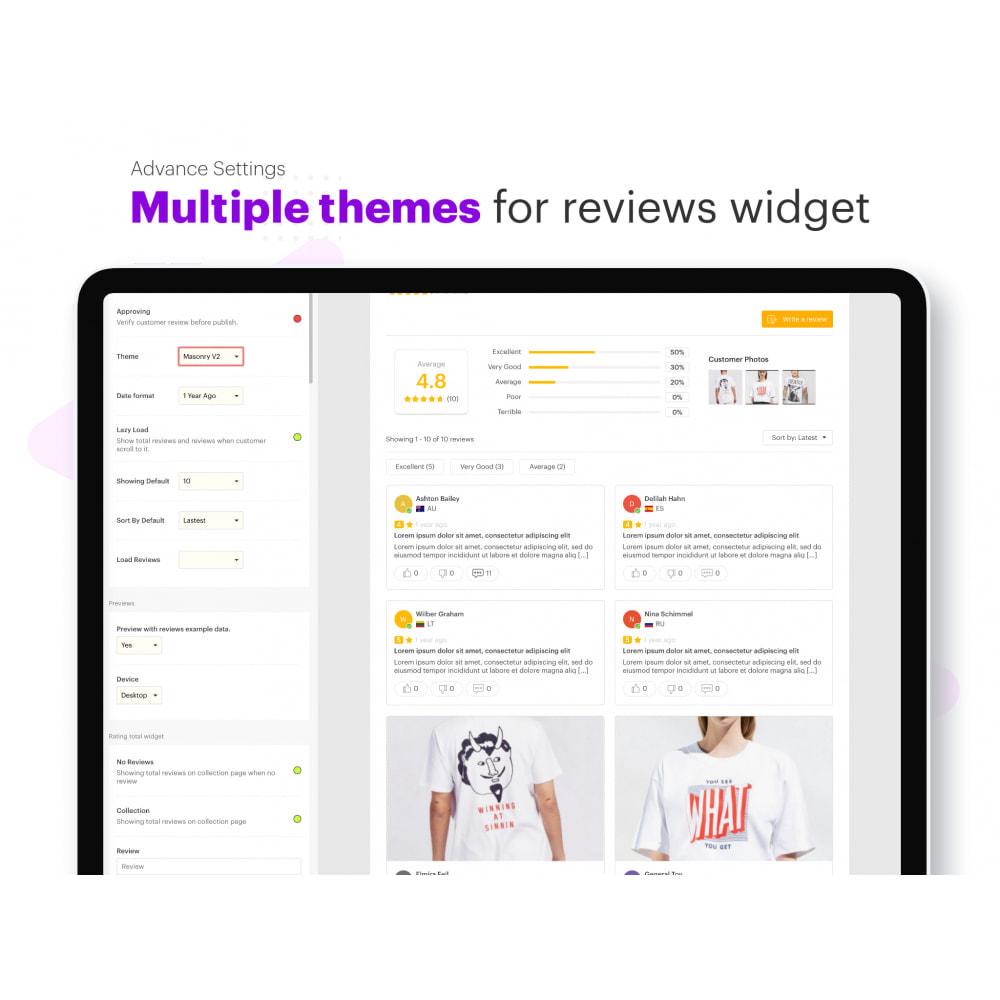 module - Kundenbewertungen - Ryviu Product Reviews App & QA - 5