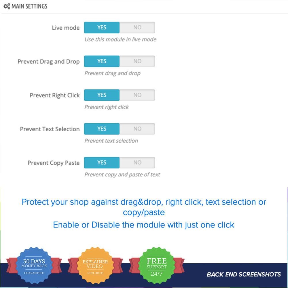 module - Security & Access - Contenuto Proteggere PRO - 3