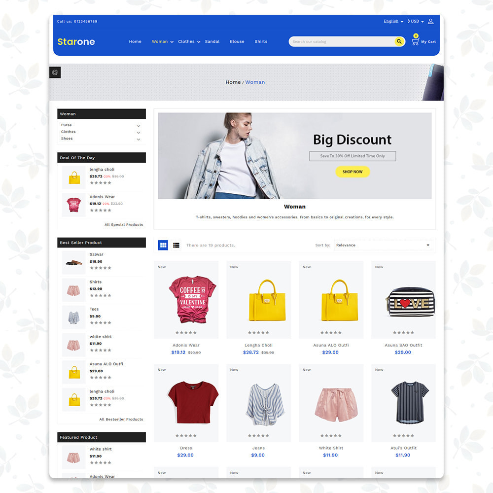 theme - Fashion & Shoes - Star One Store - 2