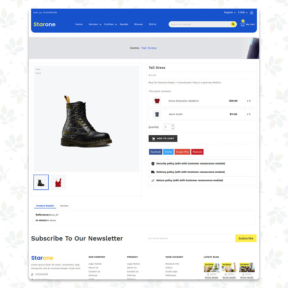 theme - Fashion & Shoes - Star One Store - 4