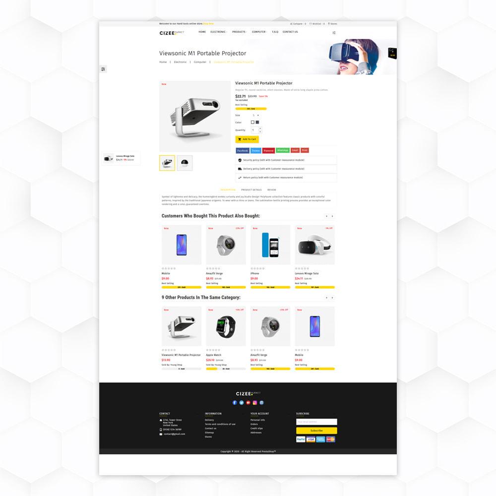 theme - Electronique & High Tech - Clzee Market Store - 5