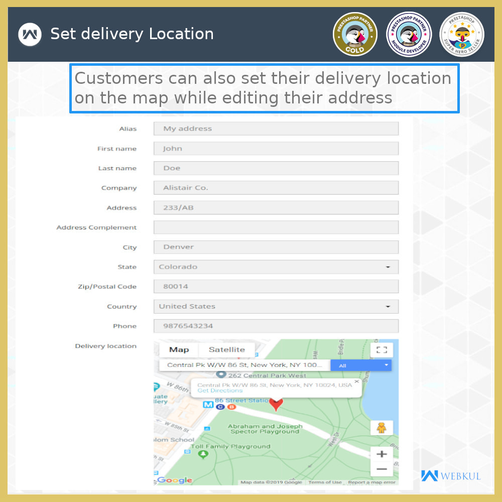 module - Lingue & Traduzioni - Set Your Delivery Location | Tracking Made Easy - 3