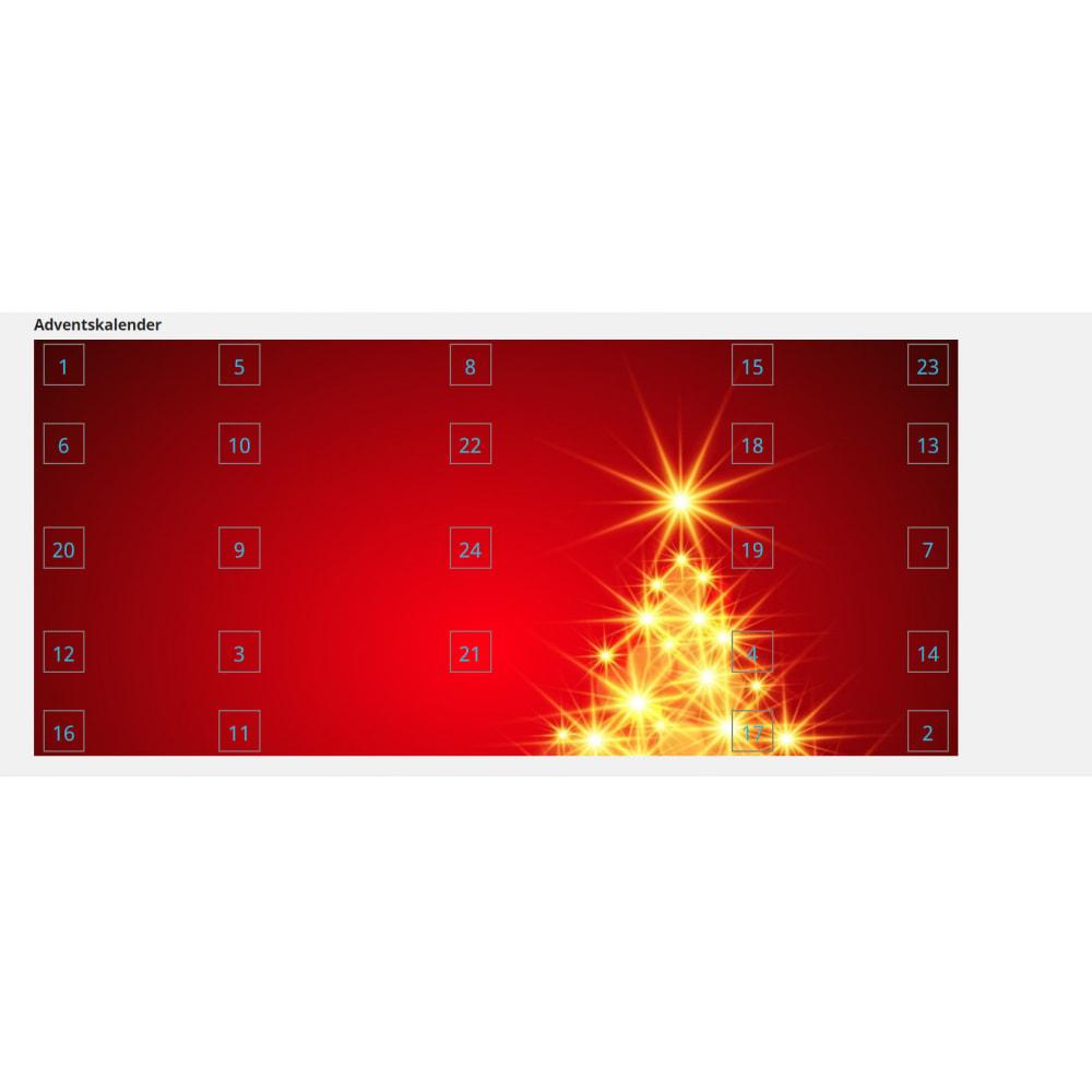 module - Personalização de página - Advent Calendar / Christmas Calendar / Santa Calendar - 9