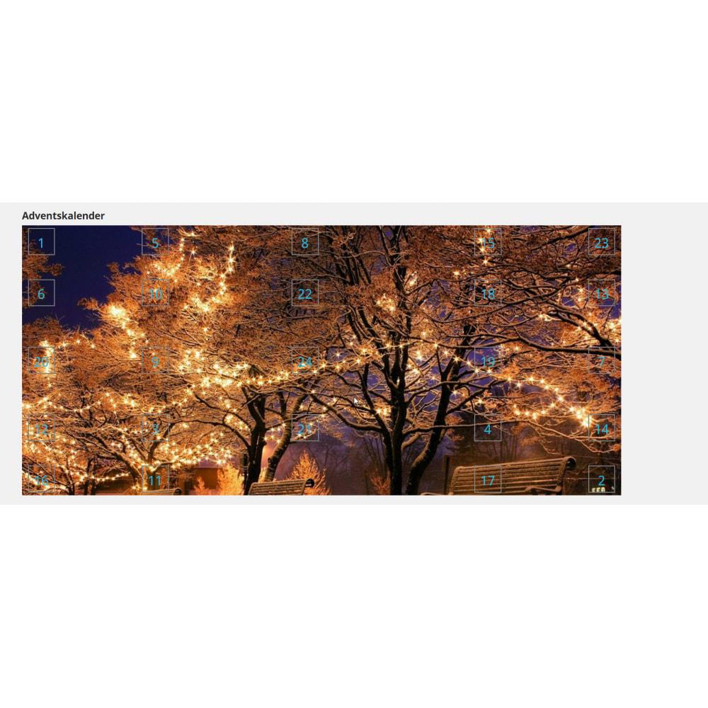 module - Personalização de página - Advent Calendar / Christmas Calendar / Santa Calendar - 14