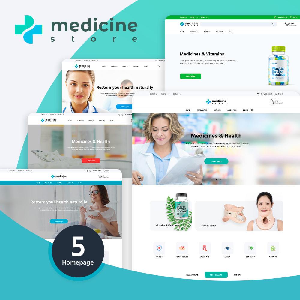 theme - Santé & Beauté - Medicine - 1