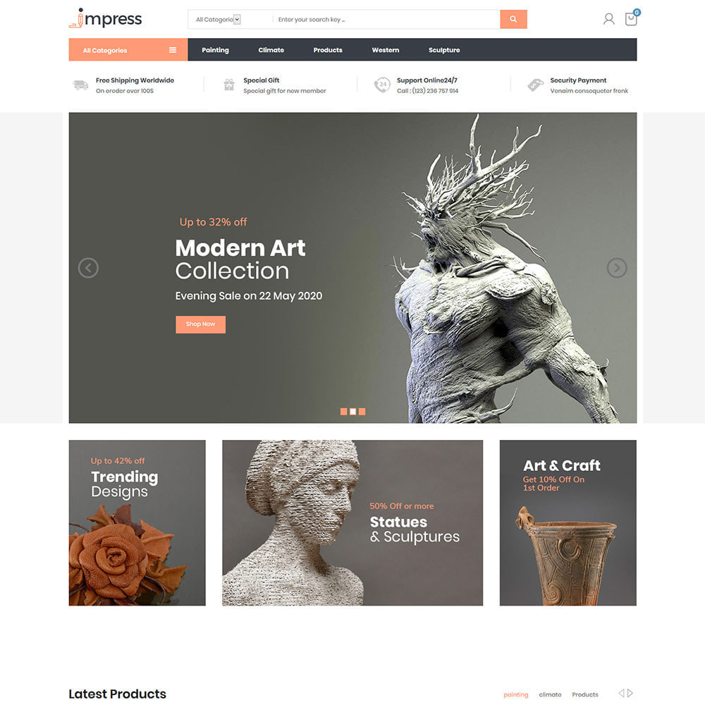 theme - Art & Culture - Impress Decor - Painting Art Store - 2