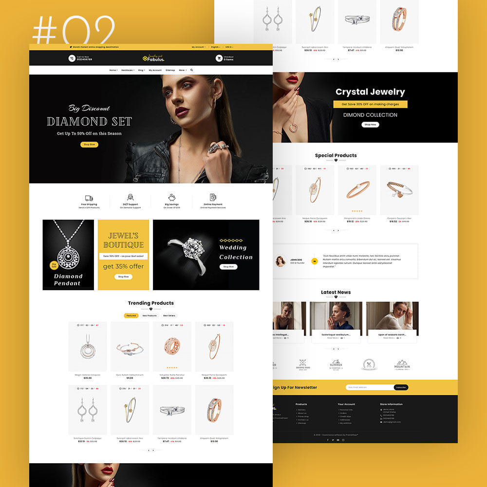 theme - Fashion & Shoes - Fabulus - Multi-purpose Online Store - 3