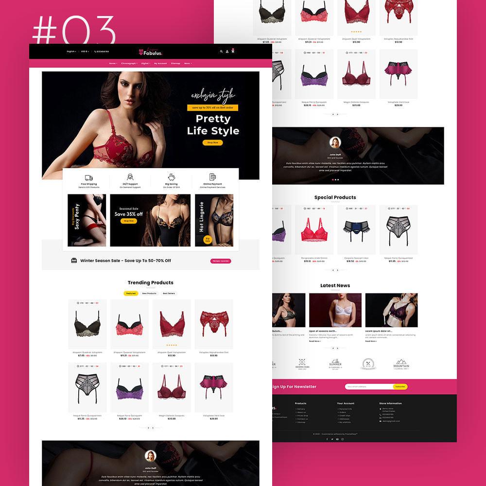 theme - Fashion & Shoes - Fabulus - Multi-purpose Online Store - 4