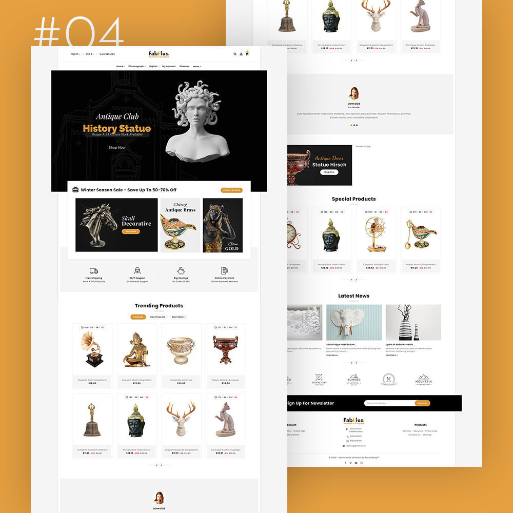 theme - Fashion & Shoes - Fabulus - Multi-purpose Online Store - 5