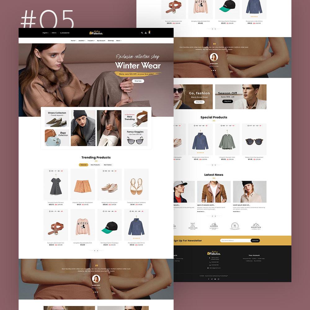 theme - Fashion & Shoes - Fabulus - Multi-purpose Online Store - 6