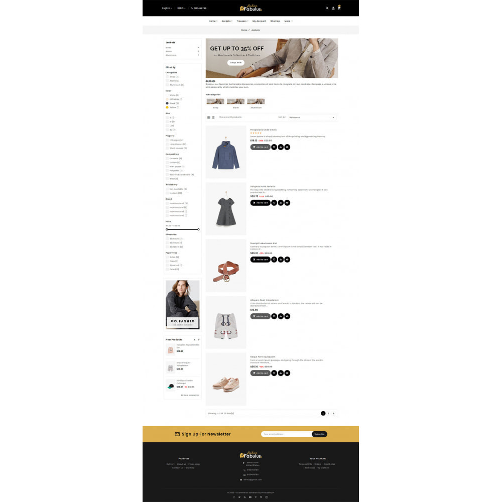 theme - Fashion & Shoes - Fabulus - Multi-purpose Online Store - 16