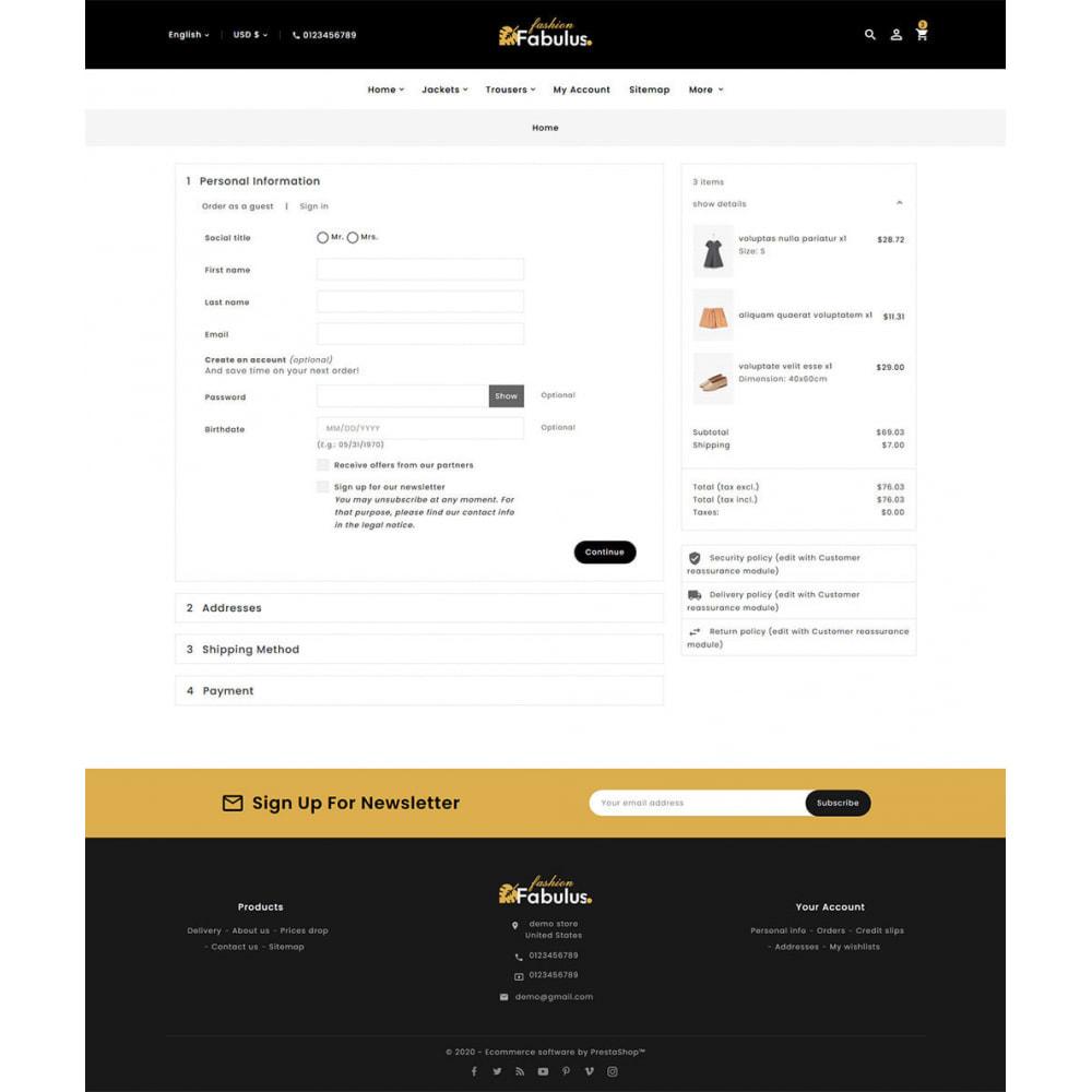 theme - Fashion & Shoes - Fabulus - Multi-purpose Online Store - 19