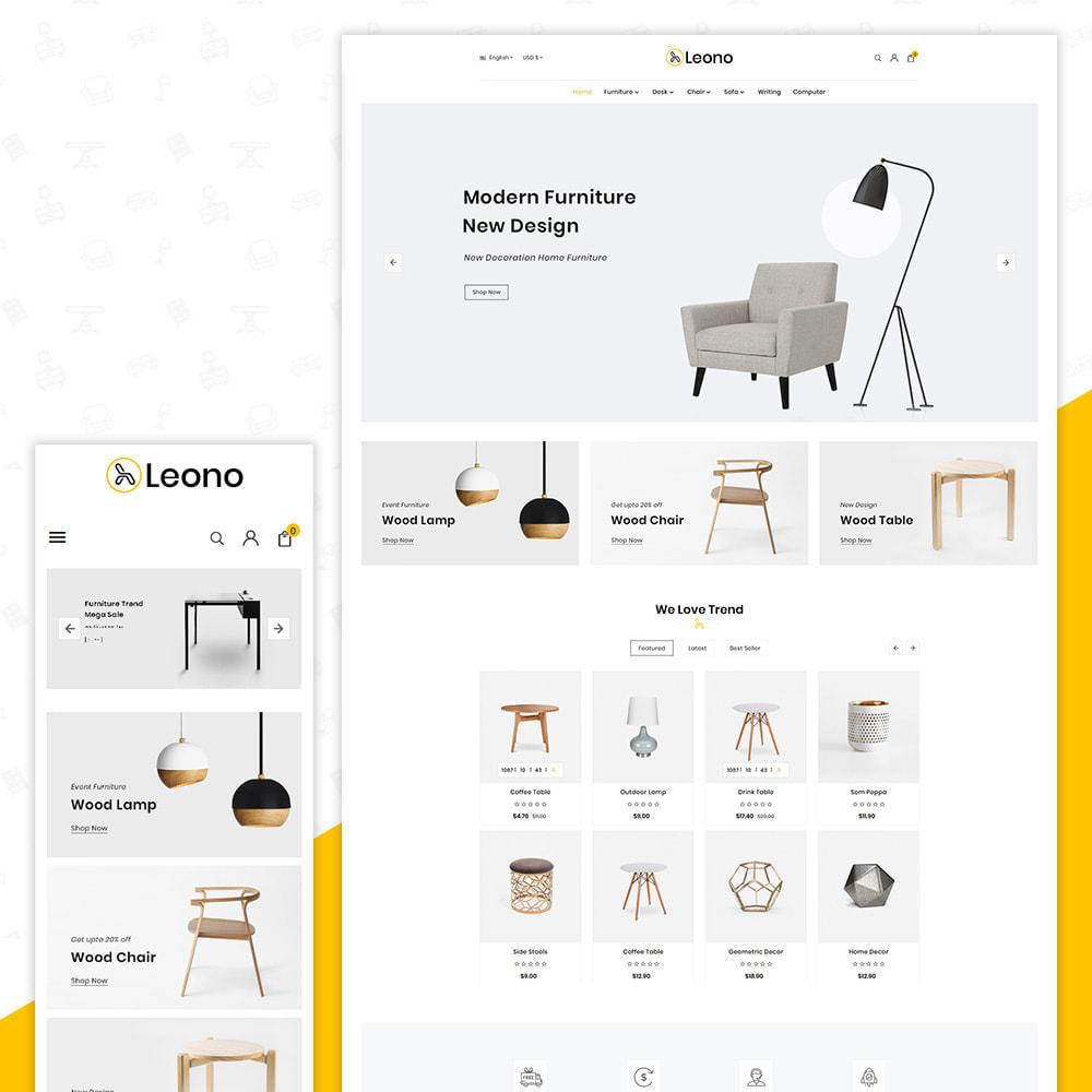 theme - Home & Garden - Furni–Wood–Leono–Furniture Store - 1
