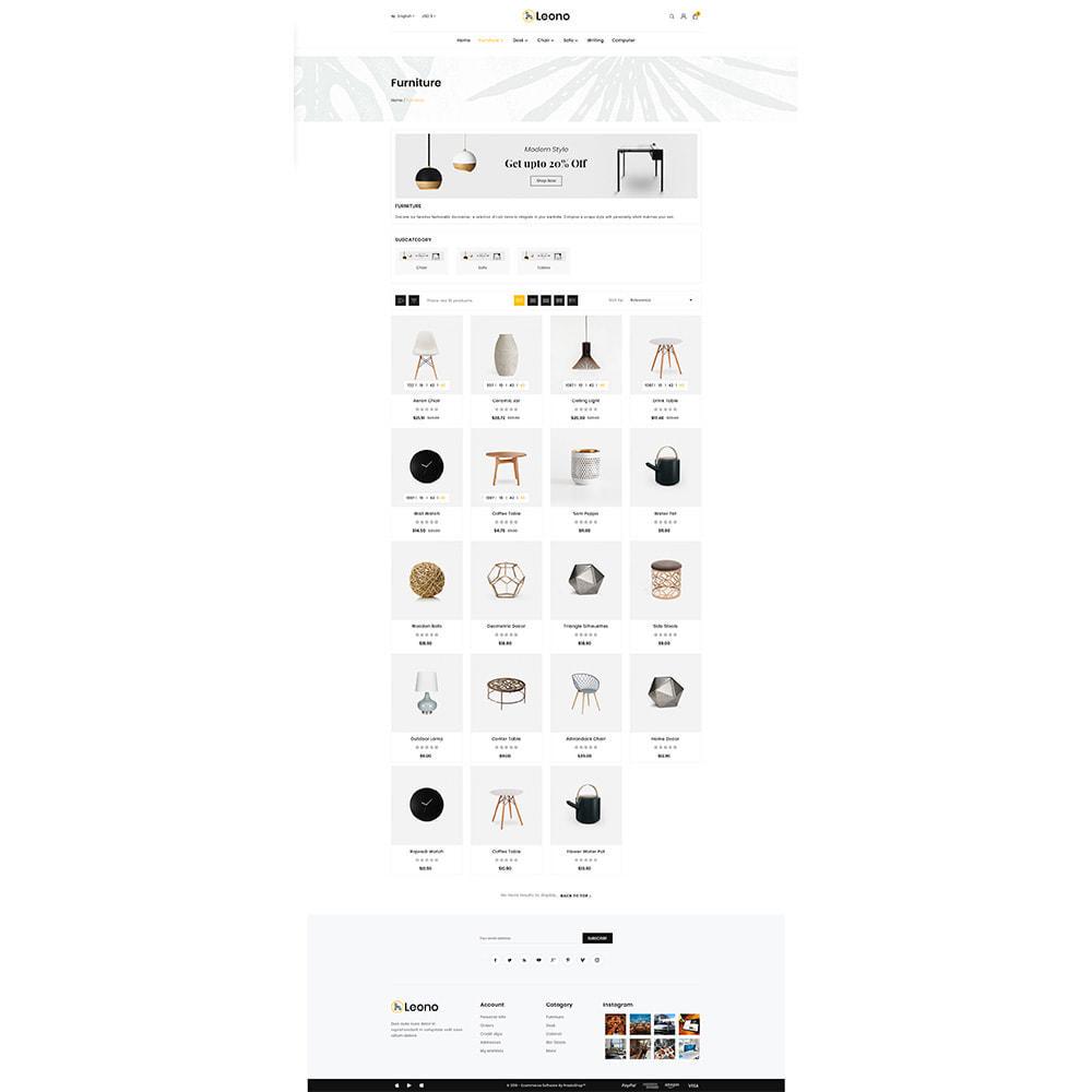 theme - Home & Garden - Furni–Wood–Leono–Furniture Store - 3