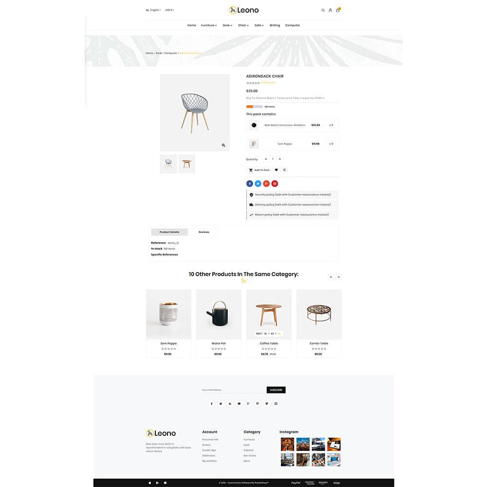 theme - Home & Garden - Furni–Wood–Leono–Furniture Store - 4