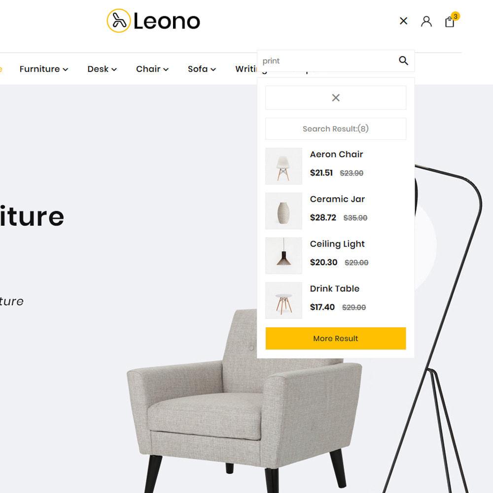 theme - Home & Garden - Furni–Wood–Leono–Furniture Store - 8