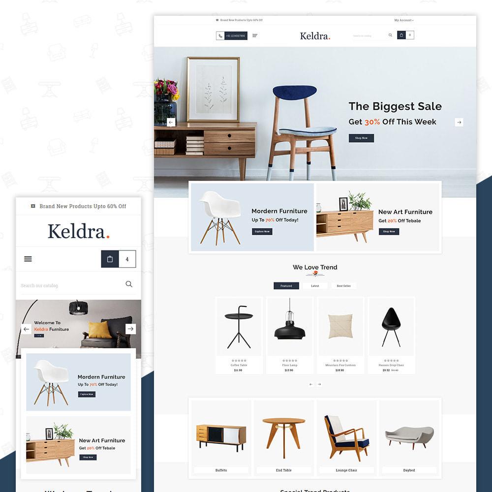 theme - Home & Garden - Keldra–Furniture–Meubles Large Home–Decor Shop - 1