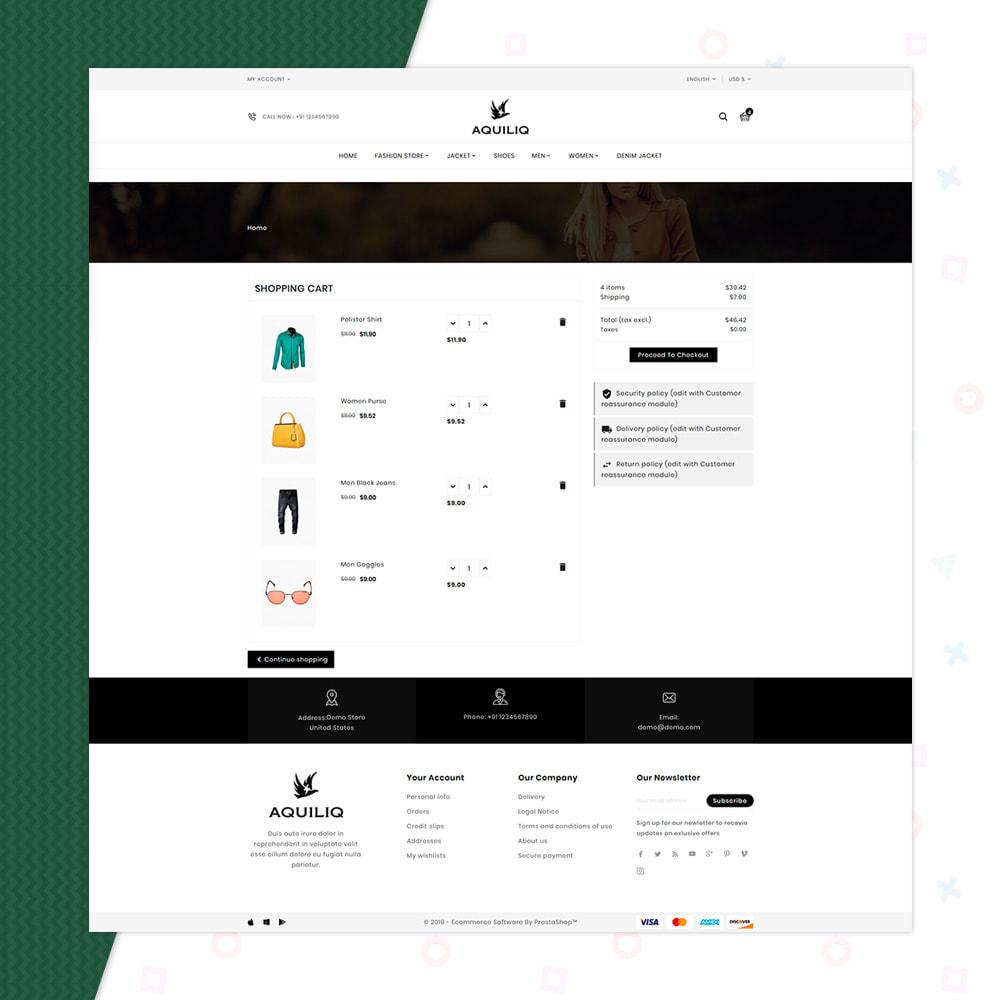 theme - Mode & Chaussures - Aquiliq Style–Cloth Fashion Store - 5