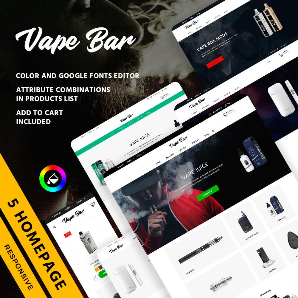 theme - Electronics & Computers - Vape Bar - 1