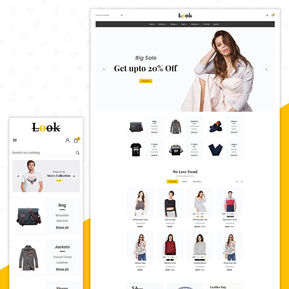 theme - Fashion & Shoes - Look Fashion–Big Mall - 1