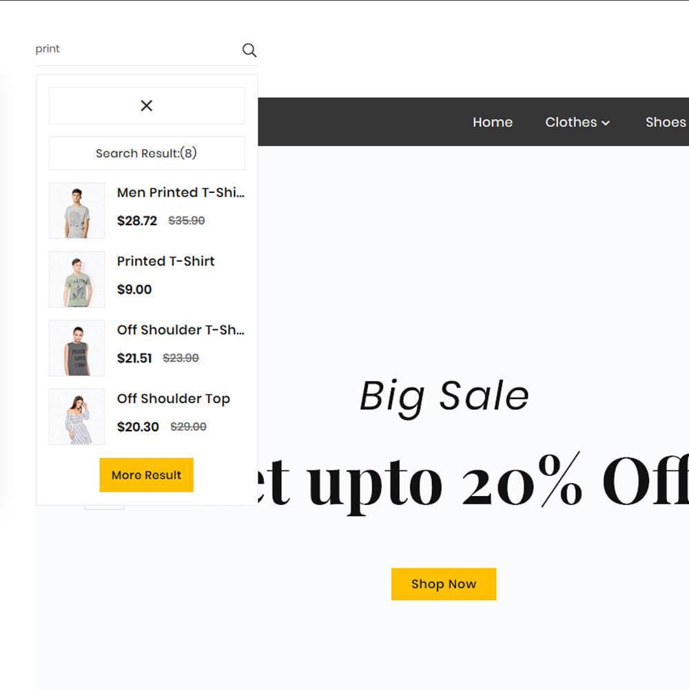 theme - Fashion & Shoes - Look Fashion–Big Mall - 8