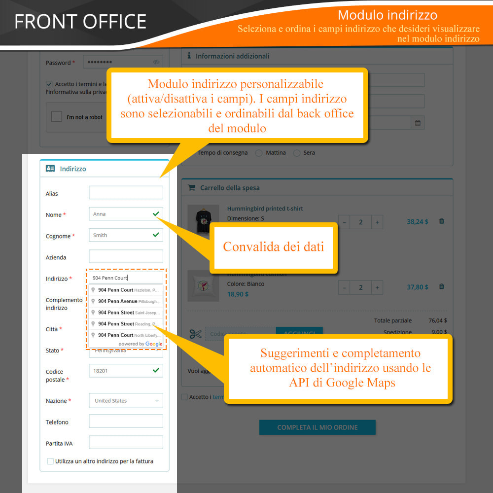 module - Express Checkout - ONE PAGE CHECKOUT - Veloce, Intuitivo & Professionale - 7