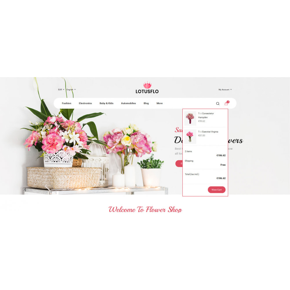 theme - Gifts, Flowers & Celebrations - Lotusflow - Flowers Shop - 7