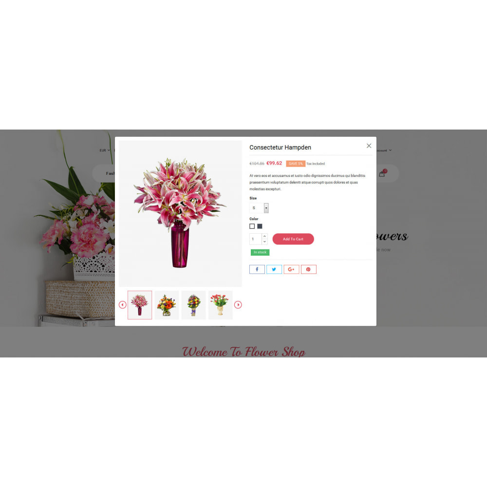 theme - Gifts, Flowers & Celebrations - Lotusflow - Flowers Shop - 8
