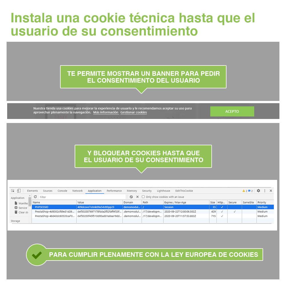 module - Marco Legal (Ley Europea) - Ley de Cookies RGPD (Aviso + Bloqueador) - Nuevo 2020 - 3