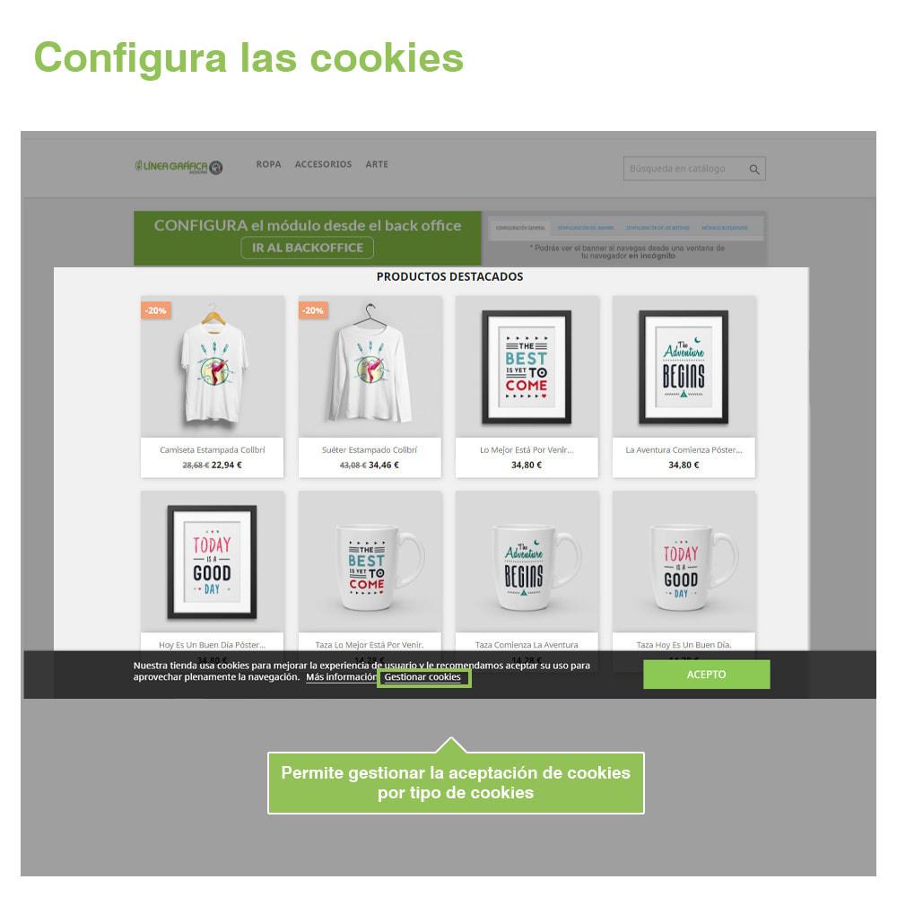 module - Marco Legal (Ley Europea) - Ley de Cookies RGPD (Aviso + Bloqueador) - Nuevo 2020 - 4