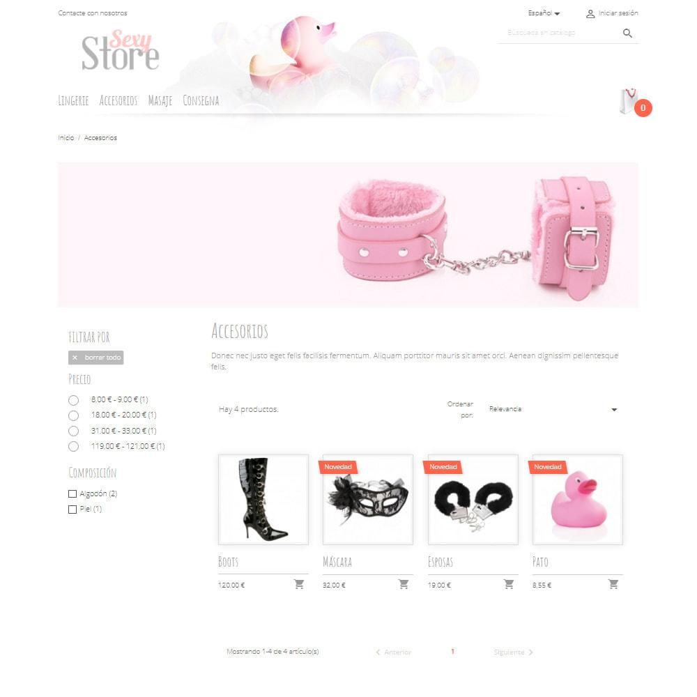 theme - Lenceria y Adultos - Sexy Store - 3