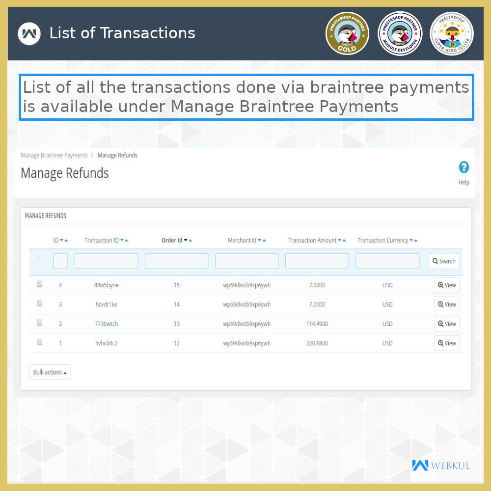 module - Payment by Card or Wallet - Braintree Payment - Refund and Recurring (SCA-Ready) - 11
