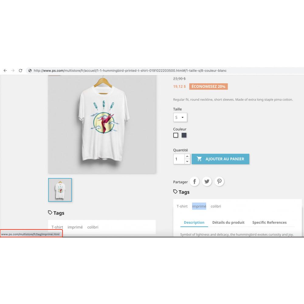 module - Information supplémentaire & Onglet produit - Advanced Product Tags Pro | SEO internal link promotion - 6