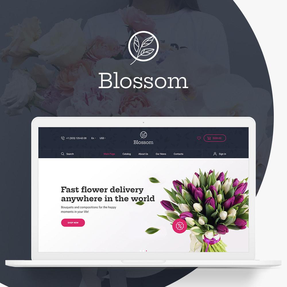 theme - Presentes, Flores & Comemorações - Blossom Store - 1